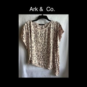 Ark & Co Pink Small Blouse